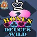 Bonus Deuces Wild (3 Hands)